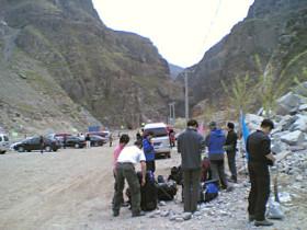 穿越——2007年穿越小五台山