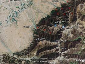 穿越——小五台山地图路线