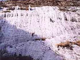 攀冰——桃源仙谷