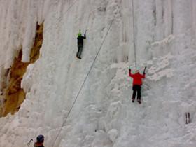 攀冰——云蒙峡